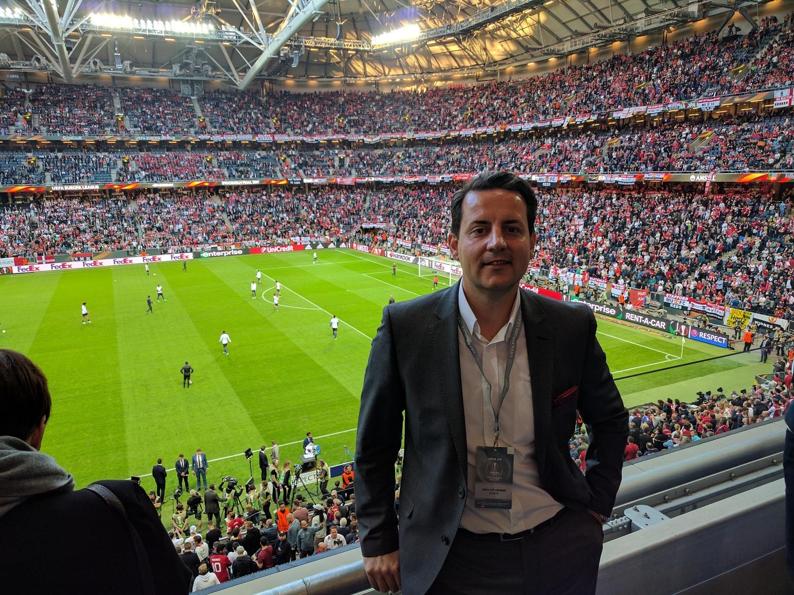 Интензивно вложуваме во подобра фудбалска иднина Филип Поповски Генерален секретар во ФФМ