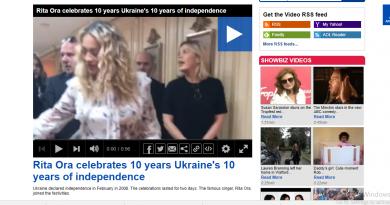Рита Ора слави 10 години од независноста на УКРАИНА! Британците полуделе???