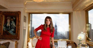 Меланија Трамп станува во 5 и 30, јаде 7 овошки дневно