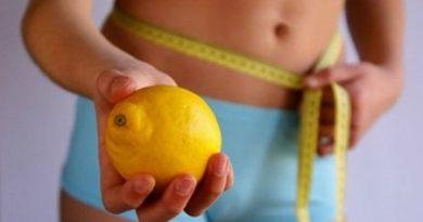 Ослабнете со лимон
