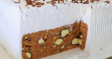 Торта не се пече, готова за 15 минути