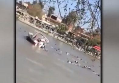 Видео: Траект потона во Ирак, околу 100 лица загинаа, а поголемиот дел од нив се жени и деца