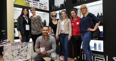30-тина фризери од Македонија се едуцираа на  Болоњскиот семинар за професионални фризери!