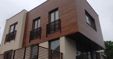 Нов тренд во Скопје – куќи и згради со дрвени фасади