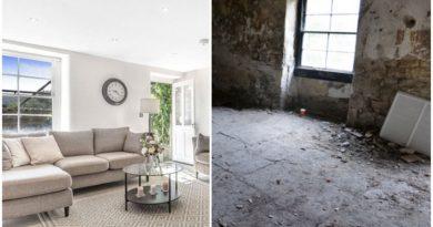 Претворил морничав подрум во луксузен стан вреден 475.000 фунти