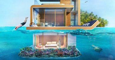 Дали сте за луксузен живот под вода? (фото)