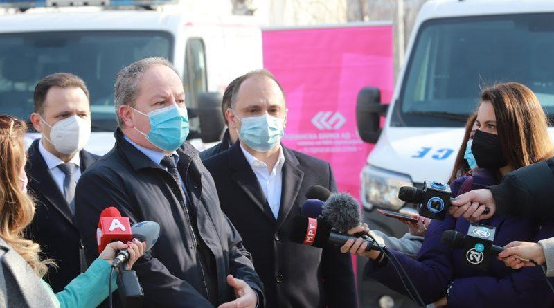Стопанска банка АД – Скопје со значајна поддршка на здравствениот систем во земјава!  Деновиве донираше и 12 специјализирани фрижидери за COVID вакцини